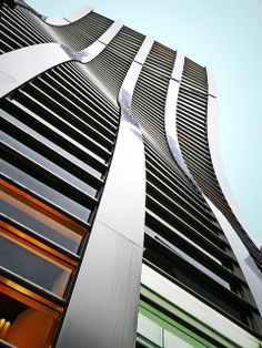 Wavy building by tanakawho, via Flickr