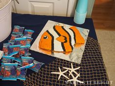 Making It Bright: Finding Nemo Birthday Party