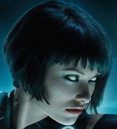 Olivia WIlde TRON....Love this haircut...