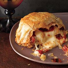 Healthy Holiday Recipes: Baked Burrata Recipe | CookingLight.com