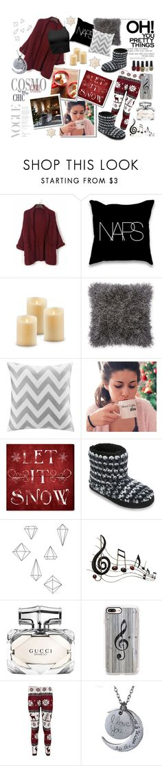 """Stay at home and feel the comfort"" by toasumjas ❤ liked on Polyvore featuring Intelligent Design, Dearfoams, Umbra, Benzara, Gucci, Casetify and GE"