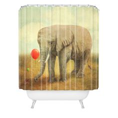 Terry Fan Truce Shower Curtain | DENY Designs Home Accessories