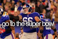 Go to the Super Bowl. Especially a NY Giants one or Atleast a MetLife Stadium one.