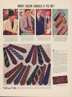 Cluett Peabody Company, Inc. once headquartered in Troy, New York was a longtime manufacturer of shirts, detachable shirt cuffs and collars, and related apparel. Vintage Crafts, Vintage Ads, Vintage Style, Rockabilly Outfits, Rockabilly Clothing, Vintage Outfits, Vintage Fashion, Vintage Clothing, Mens Slacks