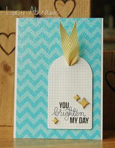 April 2014 Card Kit Inspiration - You Brighten My Day -