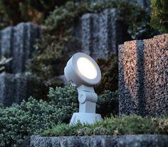 Venkovní sloupek PANLUX OKN-3LED/S (OKO) Venkovní reflektor využívaný jak na stavbách, tak kdekoliv, kde je potřeba dostatečně silné osvětlení rozsáhlejších ploch #led #garden #zahrada #design #panlux #svítidlo, #osvětlení, #světlo, #light #outdoor #rustical #classic #klasické