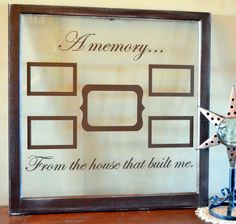 Items similar to Antique window picture frame, painted dark distressed brown with brown vinyl on Etsy Window Picture, Picture Frames, Old Window Crafts, Antique Windows, Custom Windows, Esty, Cricut Ideas, Painting Frames, Shops