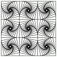 98 Best Optical Illusion Coloring Pages Images Coloring Pages