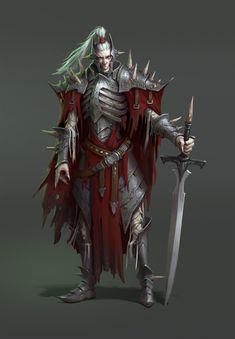 kind of deathknight, Petro Semeshchuk on ArtStation at https://www.artstation.com/artwork/1bEz8