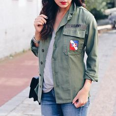 Today on SMT talking army shirts  Shop similar shirts  http://liketk.it/2pGsV @liketoknow.it #liketkit