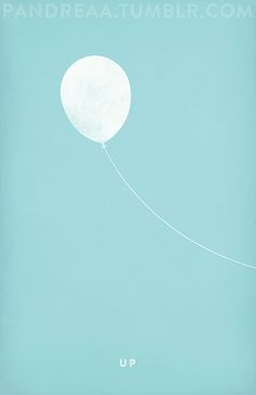 Minimalist Posters of Popular Animated Movies - Up