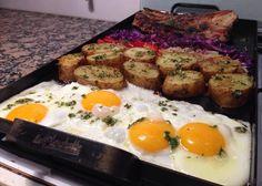 Planchetta 2 hornallas Food And Drink, Eggs, Breakfast, Empanadas, South America, Bar, Sentences, Simple, Puff Pastry Recipes