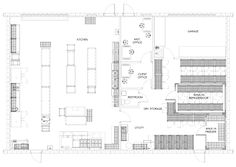 The Delaware Kitchen Share commercial kitchen design is a 2,400 square foot commercial kitchen rental concept. Their clients are primarily product developers and food truck entrepreneurs who do not have access to a commercial kitchen...