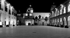 #square of the Republic by night - #Mazara #travel #sicily #italy #holiday #traveling #holiday #visitsicily #accommodation #sea #sun #culture Contact us at info@http://goo.gl/Ybckxv