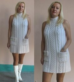 вязаные платья в духе минимализма - Поиск в Google