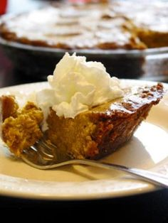 Recipe Ginger Pumpkin Pie With Graham Cracker Crust by The Kitchn
