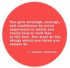 Characteristic- Courage