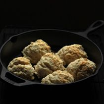 Tasting Table National: Buttermilk Drop Biscuits with Paprika Salt. Put that cast iron skillet to good use!
