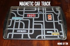 whims of tim: Magnetic Car Track