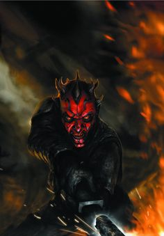 Getting cut in half by Obi-Wan Kenobi and being rejected by his former Sith master Darth Sidious isn't going to defeat Darth Maul. In fact, it only makes him mad enough to take on the galaxy—with an a