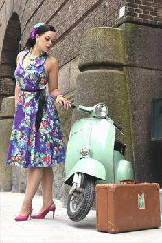 shoot with one of our Oldtimer Vespa s Rotterdam Vespa