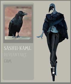 Raven by ~Sashiiko-Anti on deviantART Fashion Portfolio Layout, Fashion Design Sketchbook, Fashion Illustration Sketches, Fashion Design Drawings, Fashion Sketches, Fashion Design Classes, Croquis Fashion, Rabe, Fashion Art