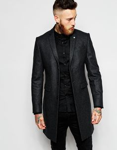 Image 1 of Noose & Monkey Wool Overcoat