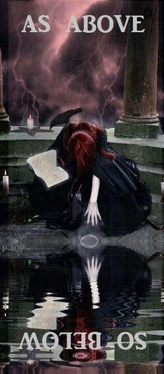 Magick Wicca Witch Witchcraft:  #Witch ~ As Above, So Below.