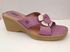 Born Shoes Womens Size 9 Sandals 9M Mauve Open Toe 40.5 EU #Brn #PlatformsWedges #Casual
