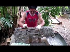 How to make flower pots with old towels | ViralShots - YouTube