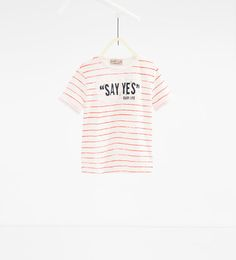 "'Say yes"" 패치 티셔츠"