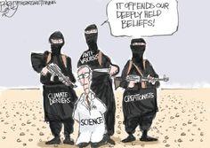 Bagley Cartoon: Anti-scientists   The Salt Lake Tribune