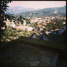 A spasso per le colline di #Sorrento con due piccioncini ;)