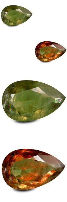Diaspore 164392: 23.48 Ct Impressive Pear Shape (25 X 16 Mm) Un-Heated Color Change Diaspore -> BUY IT NOW ONLY: $309.99 on eBay!