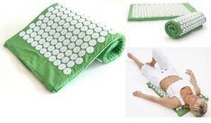 Akupresszúra alátét párnával - zöld Picnic Blanket, Outdoor Blanket, Picnic Quilt
