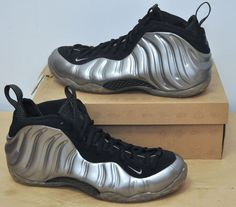 newest 2d8a0 74ab7 2011 Nike Air Foamposite one sz 13 silver pewter black 314996-004 New DS