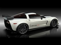 2011 Chevrolet Corvette Z06X Track Car Concept Rendering