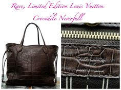 {Sponsored Post} Fab Splurge: Louis Vuitton Crocodile Neverfull