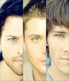 Misha ,Jensen e Jared
