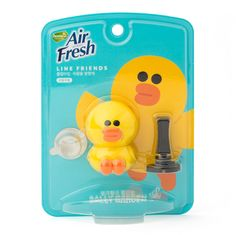 Line Friends Characters Home Car Vent Clip Air Freshener Garden Scent Sally #Homez