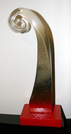 Surfing Wave Sculpture Statue