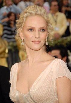 Uma Thurman Oscar Hairstyles, Wedding Hairstyles, Chin Implant, Berlin Film Festival, Uma Thurman, Gary Oldman, Sexy Cars, Celebs, Celebrities