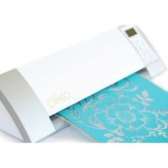 Screw the Cricut, I want a Silhouette Cameo now! Not only can you cut your OWN designs, but you can buy any designed cuts from Silhouette's store for only $0.99 a piece! Pay for the cuts you want and not an entire cartridge with only a few you like for $50+, and it only costs $269.99, umm that's a no brainer!