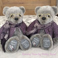 Memory Bears, Teddy Bear, Toys, Sweet, Animals, Activity Toys, Candy, Animales, Animaux