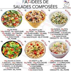Healthy Meal Prep, Healthy Cooking, No Salt Recipes, Vegan Recipes, Plats Healthy, Meal Prep Plans, Fat Foods, English Food, Tasty Bites
