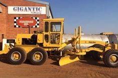 Galion Motor Grader, Heavy Equipment, Monster Trucks, Construction, Weights, Building