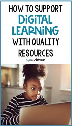How to Support Digital Learning with Quality Resources Fourth Grade, Third Grade, Common Core Language Arts, Reading Specialist, Online Support, Upper Elementary, Cover Pages, Teaching Tips, Flu