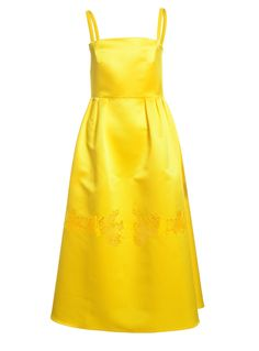 Apollo Dress in Yellow by Georgia Hardinge / Dresses | Young British Designers