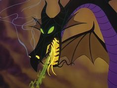 From Sleeping Beauty~one of the most magnificently animated dragons of all time~