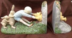 Winnie the Pooh Bookends by MyCountryHaven on Etsy